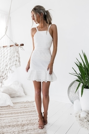 Two Sisters Shona Dress White - Front cropped