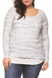 Dex Twofer Sweater Top - Product Mini Image