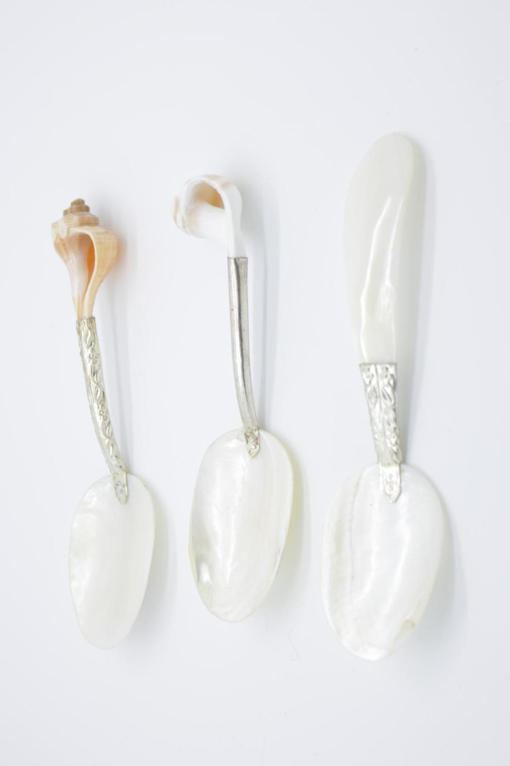 Two's Company Caviar Spoons - Front Cropped Image