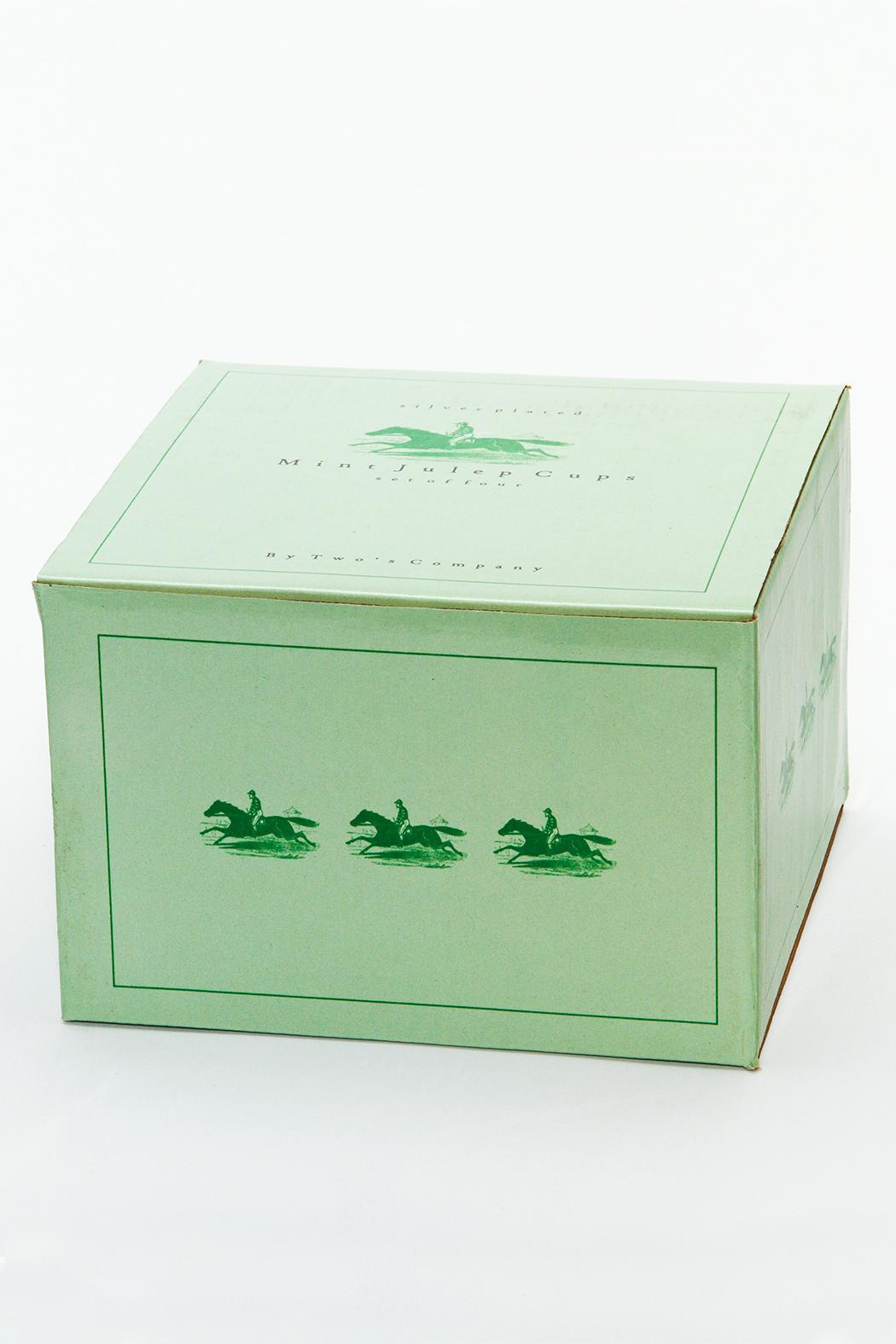 Two's Company Mint Julep Set - Front Full Image