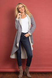 Simply Noelle Twotone Long Jacket - Product Mini Image