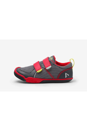 PLAE Ty Youth Sneaker - Red/Steel - Product Mini Image