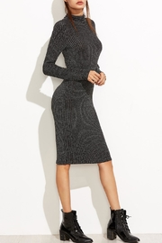 Tyche Body-Con Knit Dress - Front full body