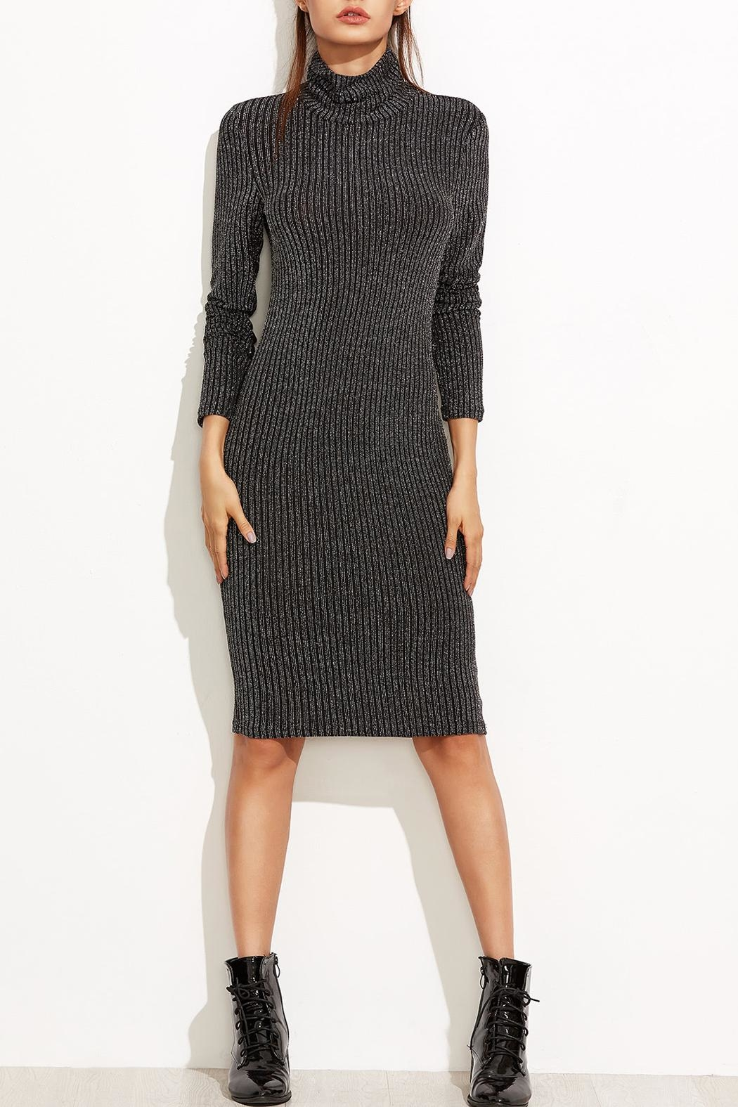 Tyche Body-Con Knit Dress - Main Image