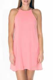 Tyche Candyfloss Pink Dress - Product Mini Image