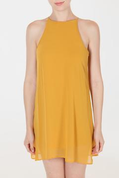 Shoptiques Product: Chiffon Marigold Dress