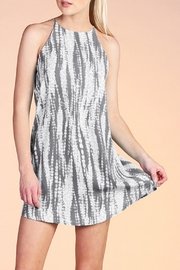 Tyche Grey Shift Dress - Product Mini Image