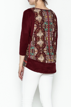 Tyche Indian Floral Top - Alternate List Image
