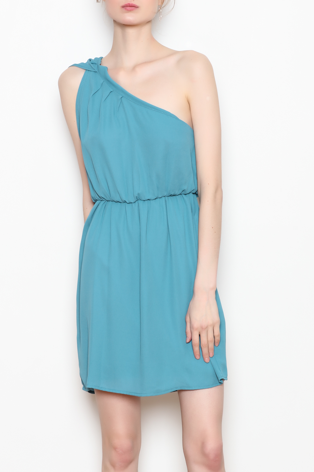 Tyche One Shoulder Dress - Main Image