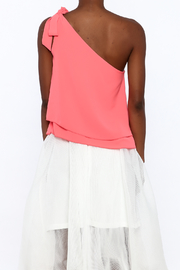 Tyche One Shoulder Top - Back cropped