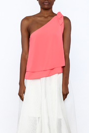 Tyche One Shoulder Top - Side cropped