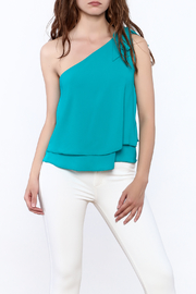Tyche One Shoulder Top - Front cropped