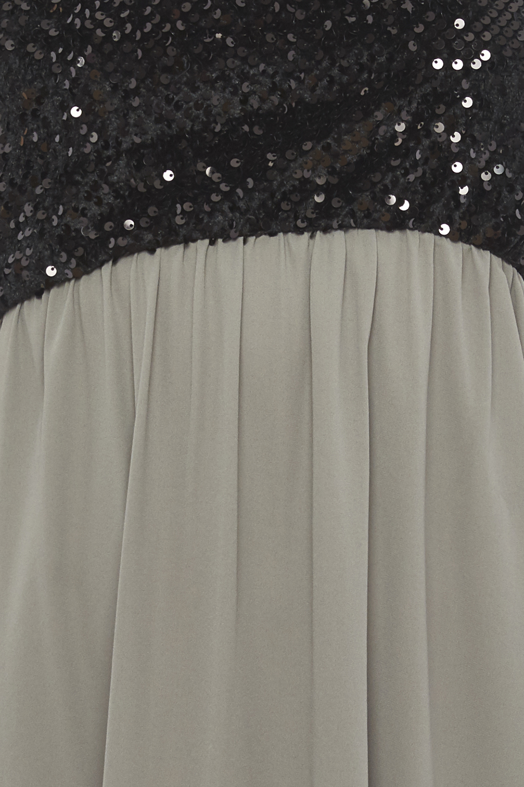 Tyche Sequin Bodice Dress - Side Cropped Image
