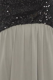 Tyche Sequin Bodice Dress - Side cropped