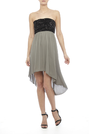 Tyche Sequin Bodice Dress - Product Mini Image
