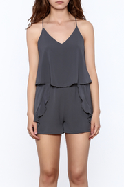Tyche Soft Sleeveless Romper - Side cropped