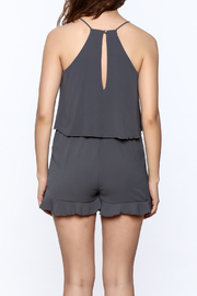 Tyche Soft Sleeveless Romper - Back cropped