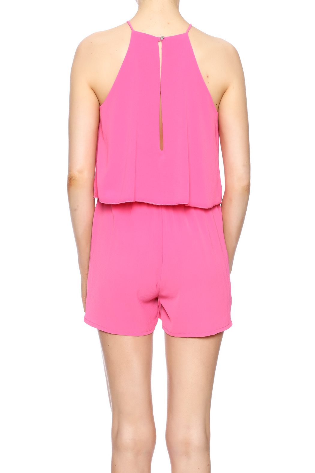 Tyche Tiered Romper - Back Cropped Image