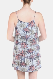 Tyche Tropical Waters Mini Dress - Back cropped