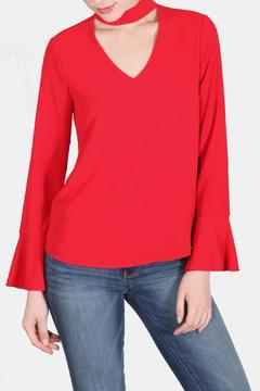 Shoptiques Product: Valentine Red Blouse