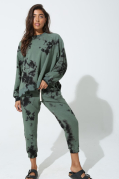 Electric Rose Tye Dye Jogger - Product List Image