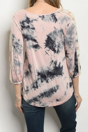 tua Tye Dye Top - Front full body