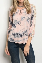 tua Tye Dye Top - Front cropped
