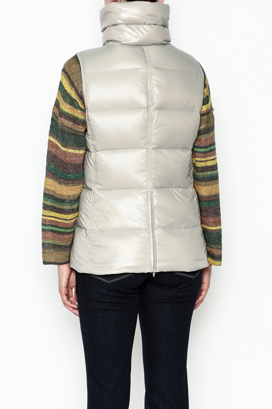 Tyler Boe Addison Down Vest - Back Cropped Image