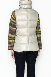 Tyler Boe Addison Down Vest - Back cropped