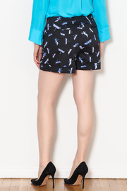 Tyler Boe Dragonfly Print Shorts - Back cropped