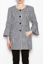 Tyler Boe Gingham Jacket - Product Mini Image