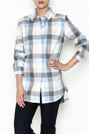 Tyler Boe Helmsley Plaid Shirt - Front cropped