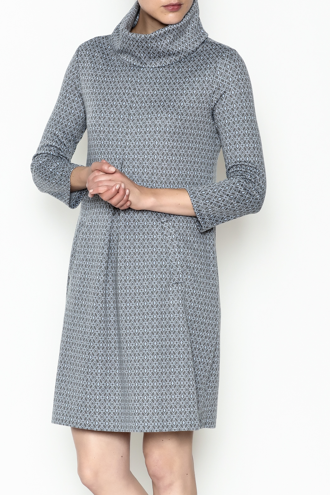 Tyler Boe Kim Cowl Dress - Front Cropped Image