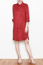 Tyler Boe Shirtdress Button Front - Front cropped