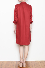 Tyler Boe Shirtdress Button Front - Back cropped