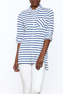 Tyler Boe Stripe Button-Down Top - Product List Image