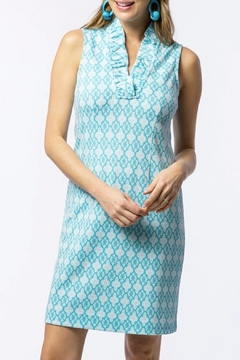 Tyler Boe Constance Jacquard Ruffle-Collar-Dress - Product List Image