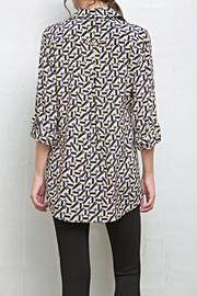 Tyler Boe Corsican Geo Tina Blouse - Side cropped