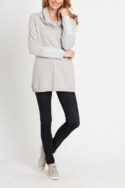 Tyler Boe Cotton Cashmere Cowlneck - Front cropped