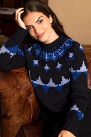 Tyler Boe Intarsia Sweater - Product Mini Image