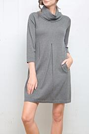 Tyler Boe Kim Cowl Cashmere Dress - Product Mini Image