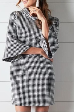 Shoptiques Product: Lexi Dress Houndstooth