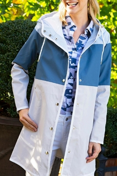 Tyler Boe Nantucket Colorblock Rain Parka - Product List Image