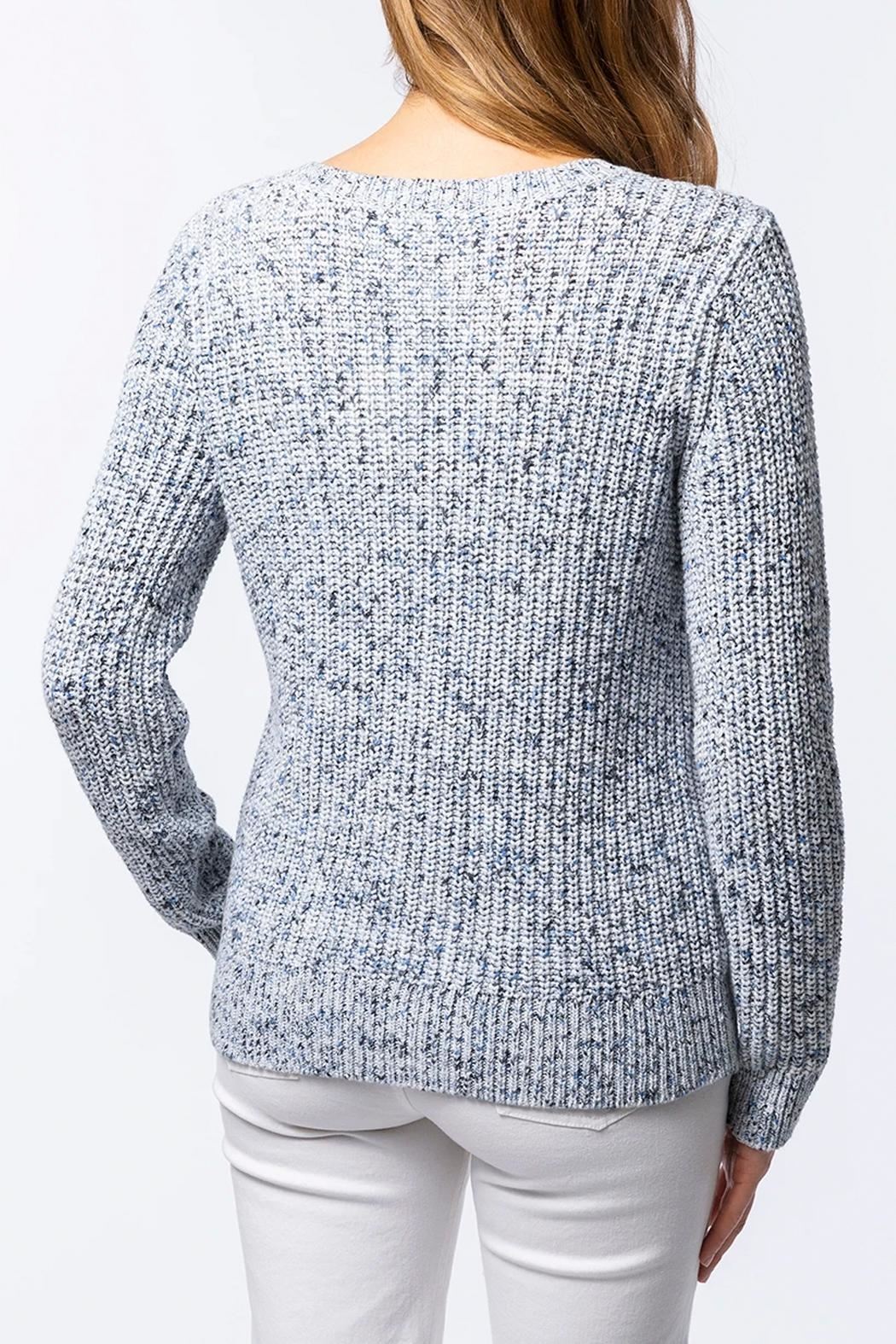 Tyler Boe Space Dyed Sweater - Front Full Image