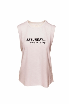 Shoptiques Product: Saturday Please Stay Tee