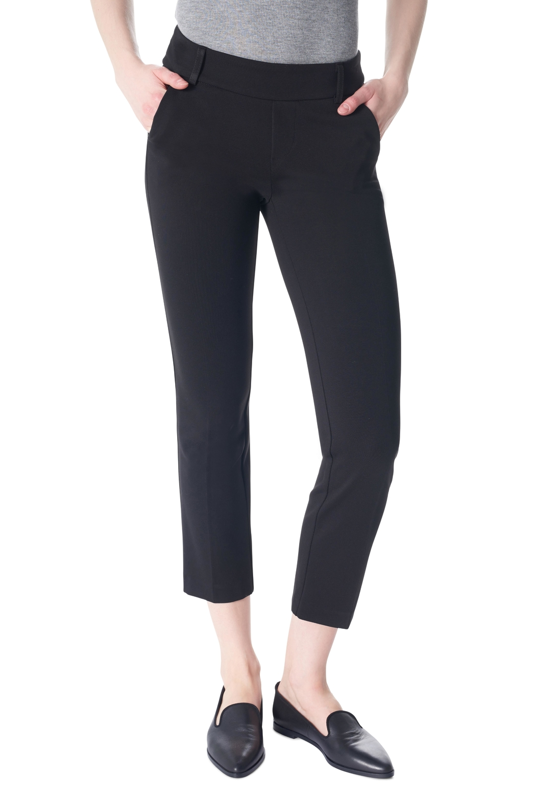 Tyler Madison Crop Trouser Pant - Front Cropped Image