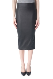 Tyler Madison Faux Leather Skirt - Product Mini Image