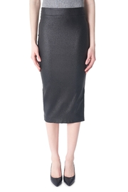 Tyler Madison Waxed Pencil Skirt - Front cropped