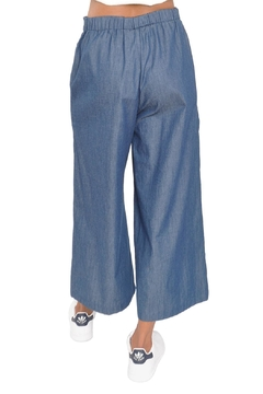 TYLHO Chambray Culotte Pants - Alternate List Image