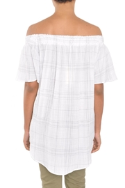 TYLHO White Off Shoulder Top - Side cropped